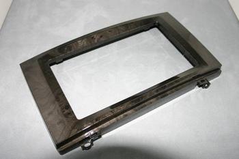 メルセデスベンツ W639 Vクラス V350 2DINパネル加工 (PB)