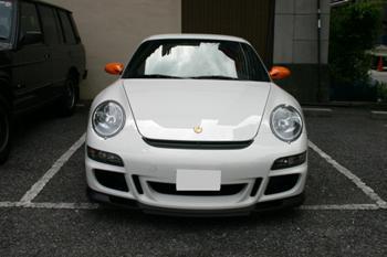 ポルシェ 911(997)GT3RS ナビ取付
