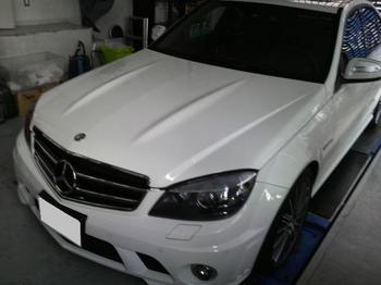 メルセデスベンツ Cクラス(W204) C63 AMG ETC取付