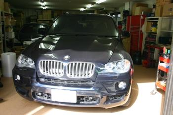 BMW X5(E70) AVインターフェイス取付