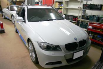 BMW 335i(E91) AVインターフェイス取付