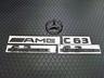 エンブレムのカーボン調加工(AMG C63&マセラティ)