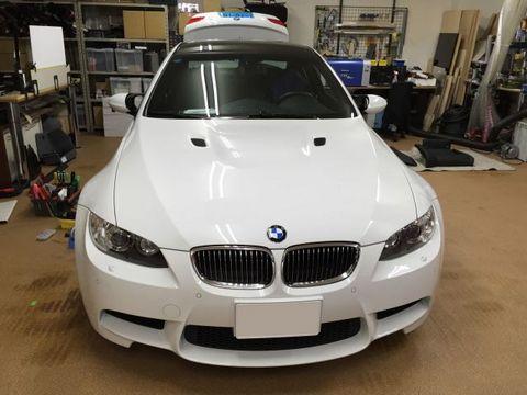 BMW M3(E92)AVインターフェイスでバックカメラを取付。